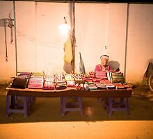 Night market, Pai by Deanne Dwight