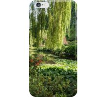 Water Lily Pond, Butchart Gardens iPhone Case/Skin