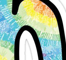 "Tie Dye ""H"" Sticker"