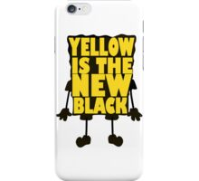 Yellow is the New Black iPhone Case/Skin