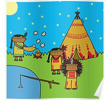 Indians - Print, Card & Poster Poster
