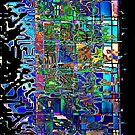 Stained Glass Abstract by Robyn Carter