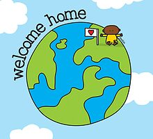 Welcome Home - Print, Card & Poster by oekies