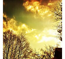 to the sky for love Photographic Print