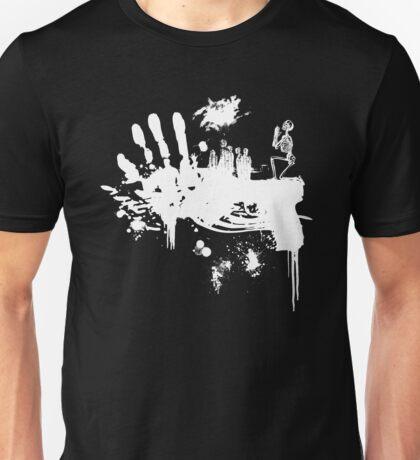 Bloody Guns! (white) Unisex T-Shirt