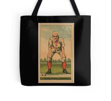 Benjamin K Edwards Collection Jerry Denny Indianapolis Hoosiers baseball card portrait Tote Bag