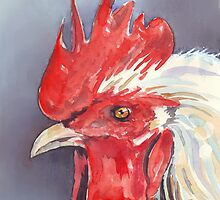 Chook (and Doris) by Maree Clarkson