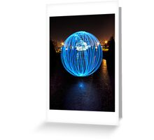 97% Orb Greeting Card