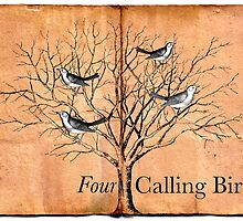 Four Calling Birds by babibell