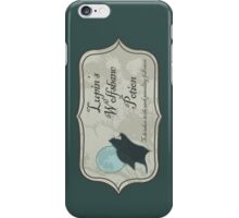 Lupin's Wolfsbane Potion iPhone Case/Skin