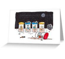 Dead Hamster in a Jar - Star Trek Edition Greeting Card