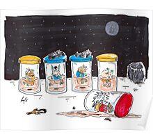 Dead Hamster in a Jar - Star Trek Edition Poster