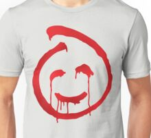 Red John smiley symbol Unisex T-Shirt