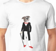 The distinguished dog. Unisex T-Shirt