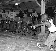 Antigua Steel Drum Dance by dgscotland