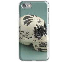 A glamorous painted skull  iPhone Case/Skin