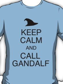 Keep Calm and Call Gandalf T-Shirt