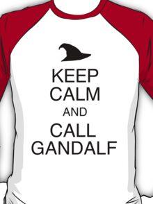 Keep Calm and Call Gandalf T-Shirt