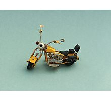 A toy vintage motorbike  Photographic Print
