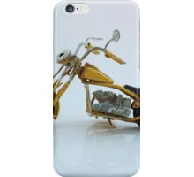 A toy vintage motorbike  iPhone Case/Skin