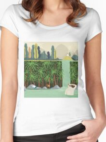 Falls Women's Fitted Scoop T-Shirt