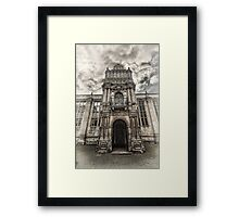 Kirby Hall 3 Framed Print
