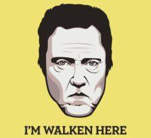"""Christopher Walken - """"Walken Here"""" T-Shirt Kids Clothes"""