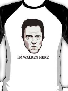 """Christopher Walken - """"Walken Here"""" T-Shirt T-Shirt"""