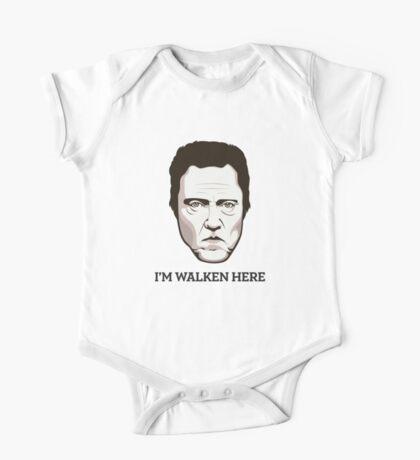 """Christopher Walken - """"Walken Here"""" T-Shirt One Piece - Short Sleeve"""