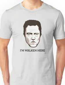 "Christopher Walken - ""Walken Here"" T-Shirt Unisex T-Shirt"