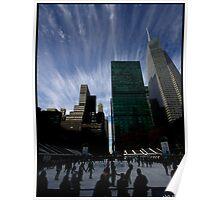 sky over bryant pk, 2011-dec Poster