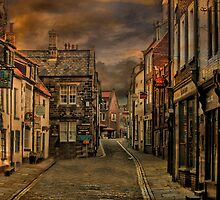 Whitby Town Centre  by Irene  Burdell