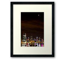 Luna Observer Framed Print