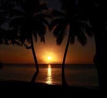 Caribbean Sunset by John Dalkin