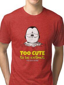 Too Cute To Be Extinct v.1 Tri-blend T-Shirt