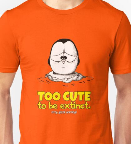 Too Cute To Be Extinct v.1 Unisex T-Shirt
