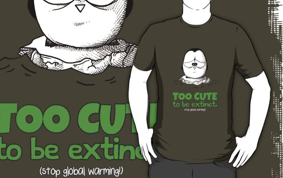 Too Cute To Be Extinct v.2 by afatpenguinshop