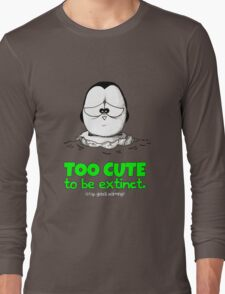 Too Cute To Be Extinct v.2 Long Sleeve T-Shirt