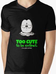 Too Cute To Be Extinct v.2 Mens V-Neck T-Shirt