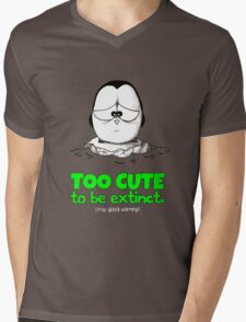 Too Cute To Be Extinct v.2 Mens V-Neck T-Shirt