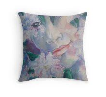 Gardenia - LIsa Jewell Throw Pillow