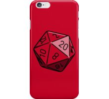 Simple D20 iPhone Case/Skin