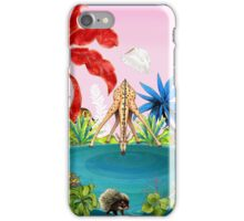 Afternoon Drinks by Ro London - Menagerie Collection iPhone Case/Skin