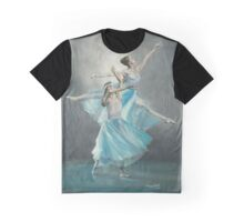 SERENADE IN BLUE/Oil on canvas Graphic T-Shirt