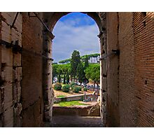 View from the Colosseum Photographic Print