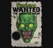 the haunted mask goosebumps by tylerjannafry