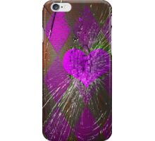 Purple Heart Case iPhone Case/Skin