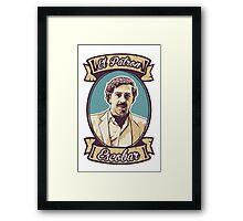 Pablo Escobar - El Patron Framed Print