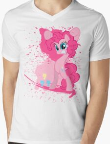 Paintie Pie Mens V-Neck T-Shirt