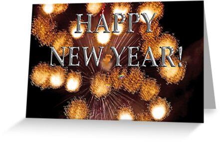 golden explosions, happy new year by dedmanshootn